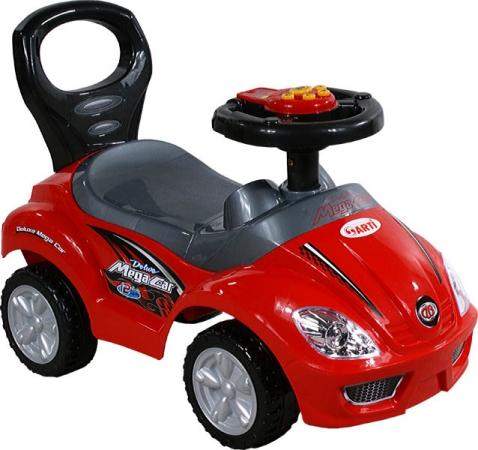 Odrážedlo ARTI 382A Mega Car standart music red Odrážecí auto pro děti