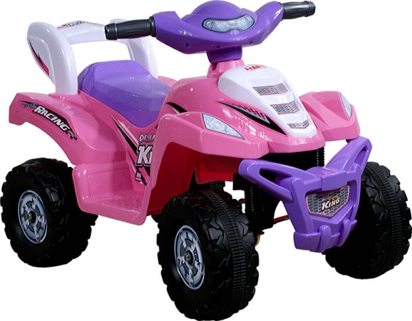 Elektrická čtyřkolka Arti Quad Rally pink