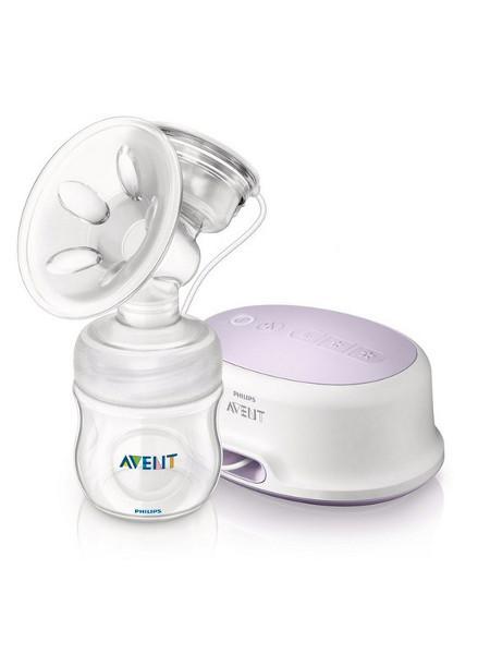 Elektronická odsávačka Avent Natural + Natural systém Odsávačka mléka Avent