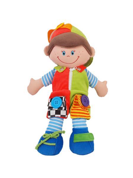Hadrová panenka chlapeček