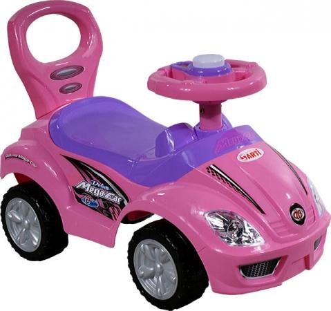 Odrážedlo ARTI 381A Mega Car standard pink Odrážecí auto pro děti