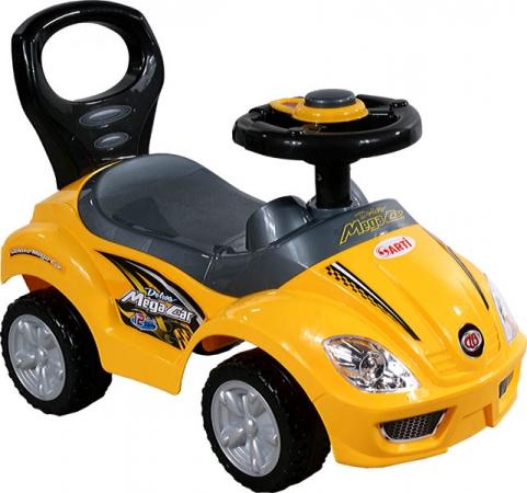 Odrážedlo ARTI 381A Mega Car standard yellow Odrážecí auto pro děti