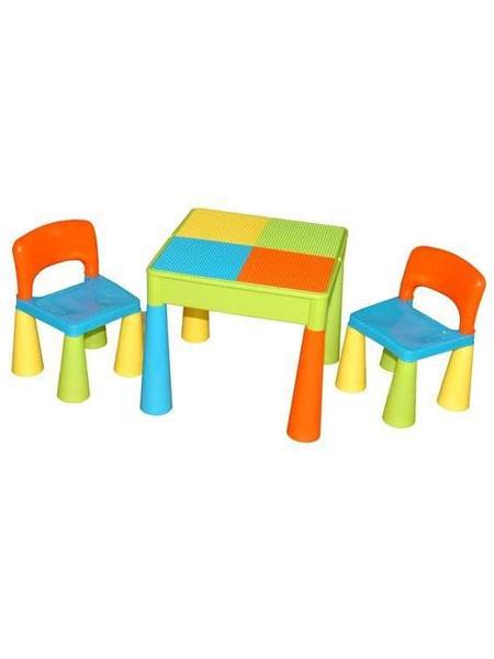 Dětská sestava MAMUT color Dětský stolek a 2 židličky
