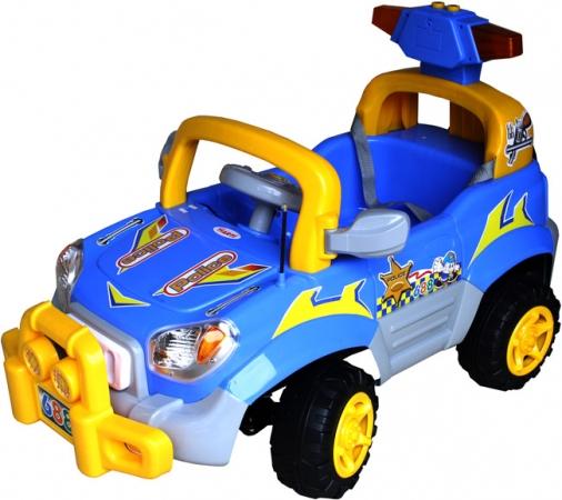 Elektrické auto ARTI POLICE Blue Dětské auto pro 1 dítě,na vysílačku