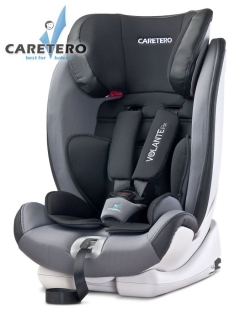 Autosedačka CARETERO Volante Fix grey 2016