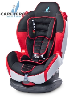 Autosedačka Caretero SPORT TURBO 2015 red