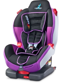Autosedačka Caretero SPORT Turbofix 2016 purple