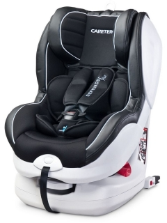 Autosedačka CARETERO Defender Plus Isofix black