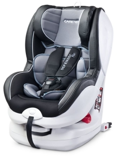 Autosedačka CARETERO Defender Plus Isofix grey
