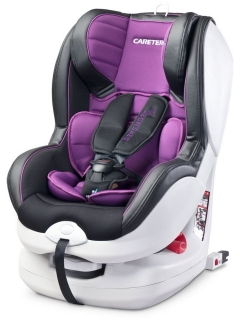 Autosedačka CARETERO Defender Plus Isofix purple