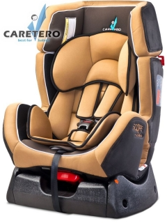 Autosedačka Caretero SCOPE Deluxe 2016 cappuccino